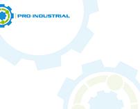 Pro Industrial: Logo y papelería
