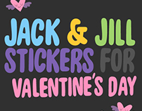Jack & Jill - Stickers pack