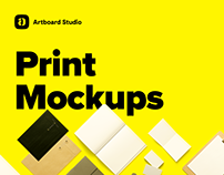 Print & Magazine Mockup Collection - Artboard Studio