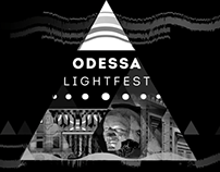 Dark dream - Odessa light festival - video mapping