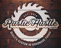 Rustic Hustle, Corporate Identity and Product Design