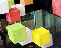 The Polyfloss Factory - Art installation