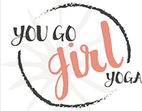 You Go Girl Yoga Branding
