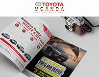 Toyota Uganda: Branding & Advertising