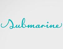 Submarine - Lettering
