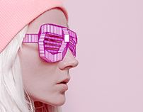 Weyes. Identity for brand sunglasses