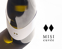 Misi cuvée - Wine label design