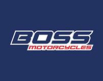 Boss Motorcycles Logo Design and Branding
