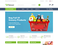 Ostromi - multipurpose eCommerce Bootstrap 4 Template