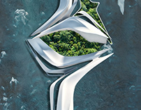 Futuristic Gardens by Miroslav Naskov / Mind Design