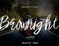 Brownight Brush Font
