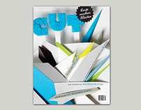 CUT Magazine: Cover Paper Art