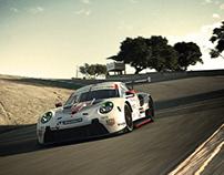 PORSCHE 911RSR 2020 livery/Gran Turismo™SPORT #2