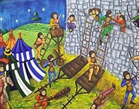 Ilustraciónes - La vida en la Edad Media