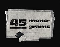 45 Monograms
