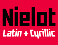 Nielot Typeface