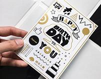 國泰人壽保戶生日賀卡 Cathay Life Birthday Card