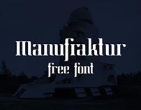 Manufraktur (Free Font)