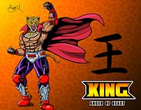 Tekken King Fightstick Artwork