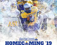 Albany State University ASU Rams Homecoming Designs