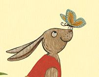 Klein-Häslein wollt' spazierengehn / children's book
