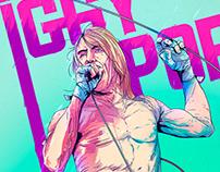 Iggy Pop - Poster
