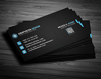 Pixel Business Card Design