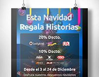 Afiche Navidad Books And Bits