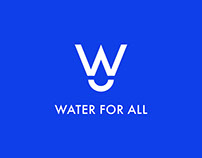 Water For All — Adobe Logo Competition