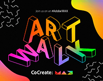 Adobe Art Walk | CoCreate: MAX 2020