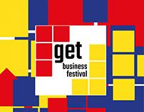 Business festival leaflet
