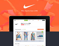 Nike Sports Gare 2016
