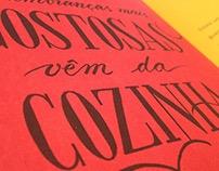 Letterings - Livro de Essência Sinhá