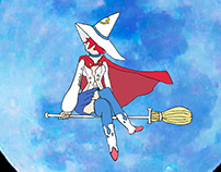 Shiny Chariot flying though the Night 2017/2018