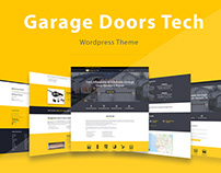 Garage Doors Tech - Wordpress Theme