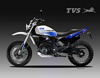 TVS APACGE 310 SCR CONCEPT