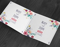 Free Square Invitation & Greeting Card Mockup  Free Squ