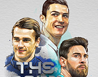 The Best, FIFA award Illustration