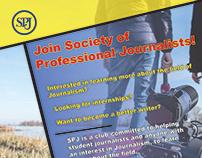 SPJ Club Flyer Design