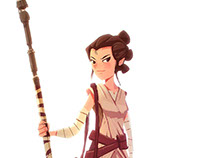 Star Wars The Force Awakens Fanart