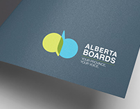 ALBERTA BOARDS LOGO