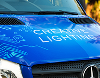 Creative Lighting Vehicle Wrap