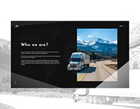 Transport Company - Web Design