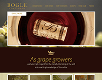 Bogle Vineyards Website Redesign