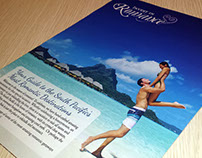 Invest in Romance Brochure, South Pacific - 2015