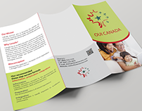 Trifold brochure - Canadian/Chinese School