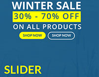 Winter Sales Slider