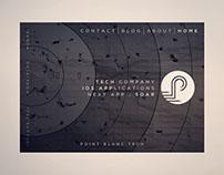 Point Blanc Tech Website Design