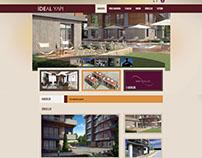Nur Konakları website tasarım çalışması