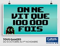 Cultura - Tous gamers